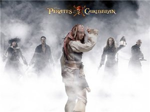 «Пираты Карибского моря 4»  – вторые в рейтинге в России