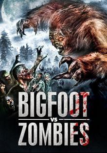 Постер Снежный человек против зомби
