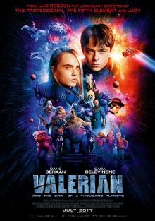 Валериан и город тысячи планет, 2017